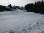 La photo: L'est du Canada recouvert de neige