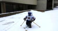 Le robot humanoide Jennifer apprend désormais à skier