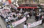Manifestation des professionnels de la santé contre la loi Touraine