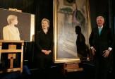 L'ombre de Monica Lewinsky dans un portrait exposé de Bill Clinton