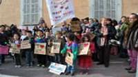 Alpes-Maritimes: la colère de parents et d'enseignants contre les fermetures de classes