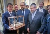 Manuel Valls distingué pour sa lutte contre l'antisémitisme