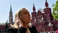 Russie: la présidente du FN Marine Le Pen rencontre le président de la Douma à Moscou