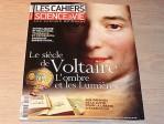 """""""Le siècle de Voltaire, au cœur de la propagande actuelle"""" (Les Cahiers de Science & Vie)"""