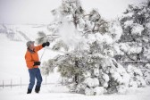 La photo: Réchauffement climatique et fortes chutes de neige dans plusieurs Etats américains!
