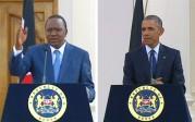 Le président kenyan n'hésite pas à contredire Barack Obama sur l'homosexualité lors de sa visite au Kenya