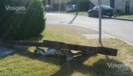 Une nouvelle croix abattue dans les Vosges