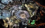 La photo: vue aérienne de la Mecque…
