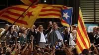 Catalogne: l'indépendance remporte les élections