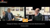 """Entretien exceptionnel avec Philippe de Villiers: """"Le moment est venu de dire ce que j'ai vu"""""""