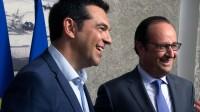 Hollande en Grèce espère redonner du tonus à la gauche française