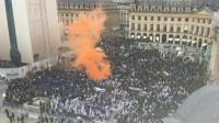Les policiers dans la rue contre la «rupture police justice»