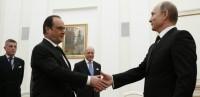 François Hollande chez Vladimir Poutine: une démarche commune?