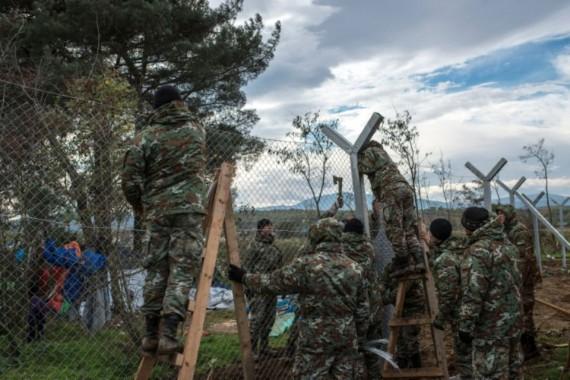 Macédoine clôture passage migrants