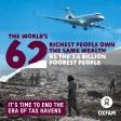 Oxfam: 62 «super-riches» possèdent autant que les 50% les plus pauvres de la population mondiale
