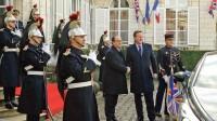 François Hollande accueillait le premier ministre britannique, David Cameron, jeudi 3 mars à Amiens, avant la rencontre franco-britannique.