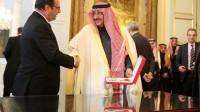 François Hollande décore de la Légion d'honneur le ministre de l'Intérieur saoudien