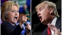 Hillary Clinton et Donald Trump sont donnés vainqueurs aux primaires démocrate et républicaine dans plusieurs Etats du «Super Tuesday», le 2 mars 2016.