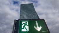 Siège de la Banque centrale européenne à Francfort.