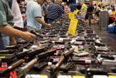 Là où les ventes d'armes progressent aux Etats-Unis, on constate une diminution du nombre des crimes