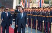 En Egypte, François Hollande prétend répondre au terrorisme par les droits de l'homme