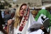Une nouvelle action des «Femmes du Mur» à Jérusalem lors de la célébration de la Pâque juive
