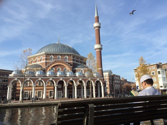 Westermoskee méga mosquée Erdogan Pays Bas président turc inauguration