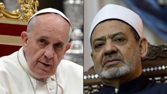pape François imam Al Azhar 23 mai