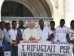 A Rome le pape François fait de la propagande pour l'invasion de l'Europe