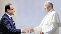 Le billet du jour: François et François, démission!<br>Ni le pape ni le président normal Hollande ne sont à leur place