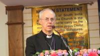 Le pape François et l'«archevêque» anglican de Cantorbéry, Justin Welby, prieront ensemble mercredi