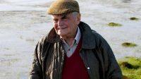 Michel Déon en Irlande, où il avait écrit Les Poneys sauvages en 1970