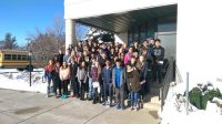 Des élèves de West Chicago High School à la mosquée