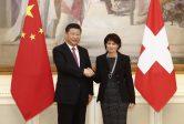 La Chine et la Suisse affirment leur partenariat stratégique; elles lutteront contre le protectionnisme