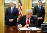 Les premières mesures de Donald Trump pour démanteler l'héritage Obama
