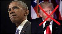Obama mène l'opposition contre Trump, à quelques pas de la Maison Blanche