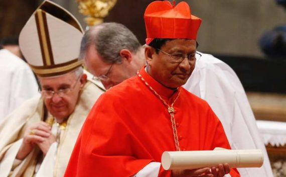 Le cardinal Charles Bo annonce l'Apocalypse écologique et appelle à la vénération de la nature