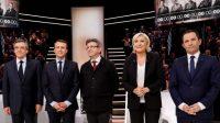Le débat: 1 Fillon, 2 Mélenchon, 3 Le Pen. Hamon et Macron zéro