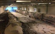 Un Macdo Musée sur une voie romaine