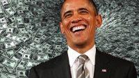 Premier temps de parole accepté par Obama… et pour 400.000$!