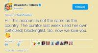 En Suède, le Swedish Institute établit une liste d'internautes mal-pensants et bloque leurs comptes Twitter