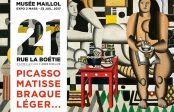 Exposition/PEINTURE<br>21 Rue de la Boétie:<br>Picasso, Matisse, Braque, Léger ♥♥