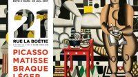 Exposition/PEINTURE21 Rue de la Boétie:Picasso, Matisse, Braque, Léger ♥♥