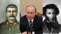 Selon un sondage russe, Poutine est la deuxième personne la plus remarquable dans l'histoire – après Staline!