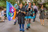 Elizabeth Stephens, professeur d'université à UC Santa Cruz,<br>prône l'écosexualité
