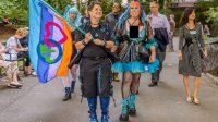 L'Université de Californie à Santa Cruz annonce «Ecosex Walking Tour» qui a eu lieu du 14 au 17 juin 2017.