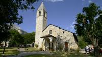 Église Ste Croix, de St Dalmas Valdeblore