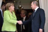Poutine et Merkel se mettent d&rsquo;accord pour l&rsquo;envoi de casques bleus dans <em>toutes</em> les zones de l&rsquo;Ukraine de l&rsquo;Est