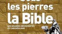 Estelle Villeneuve Sous les pierres, la Bible, Bayard, 2017, 264 pages, 26,90 Euros