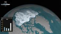 La glace arctique demeure à un niveau stable en été